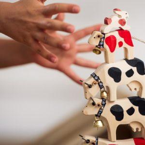 Trauffer:木のおもちゃ、置物